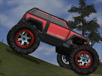TRAXXAS SUMMIT replica in 4x4 Evolution 2