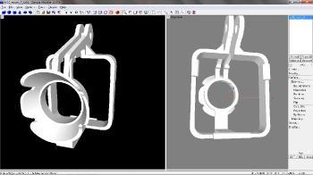 XL-RCP 24.0 Camera gimbal casing for SJCAM M10 series