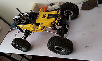 XL-RCP 52.0: Crawler body kit for AXIAL MAXXIMUS XL2