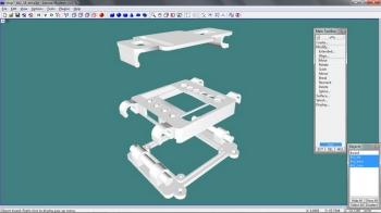 XL-RCP 7.0 - KK2.0 swivel clamp case