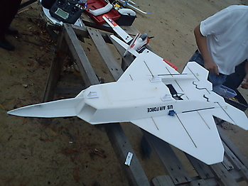 DIY home made TOMHE F-22 pusher jet
