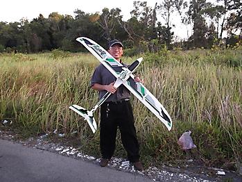 DURAFLY Zephyr V-70 70mm EDF V-tail glider - 1533mm