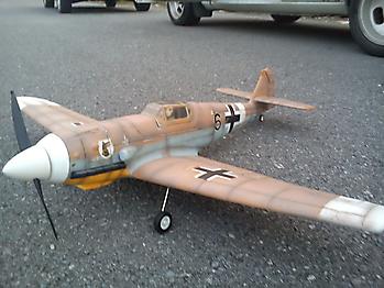 FMS Mini Messerschmitt BF-109 - 800mm