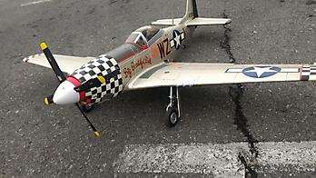 FMS P-51D Mustang 'Big Beautiful Doll' - 1450mm