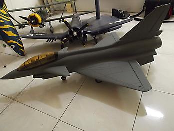 GWS J-10 Chinese fighter 75mm EDF