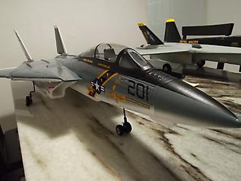 HOBBY KING F-14 Tomcat twin 60mm EDF jet - 1100mm