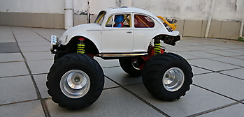 1/14 Tamiya Quick Drive (QD) MONSTER BEETLE