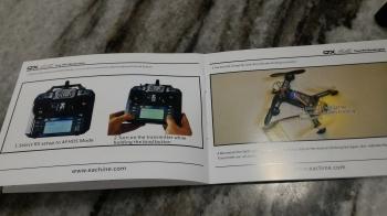 EACHINE QX95 micro FPV racing drone - 95mm