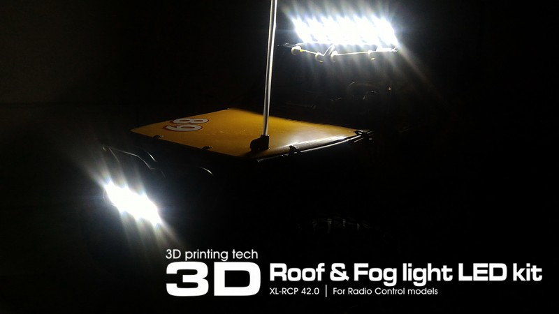 xl rcp42 led fog roof light 111