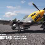 Model review: DURAFLY - P-51D MUSTANG 'Ferocious Frankie'