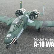 Model review: HOBBY KING - A-10 WARTHOG 75mm twin EDF jet