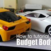 How to tutorial: Budget body shell installation, pay less for more!